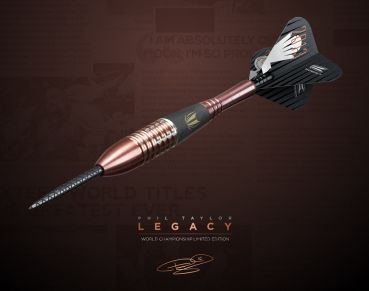 26 g Steel Dartset (3 Stk) Phil Taylor LEGACY Limited edition