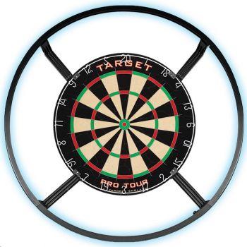 saxxot onlineshop dartboard bristle pro tour target with led