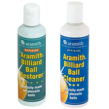 Ball Reparatur & Cleaner Set Aramith 2 Flaschen a´250ml